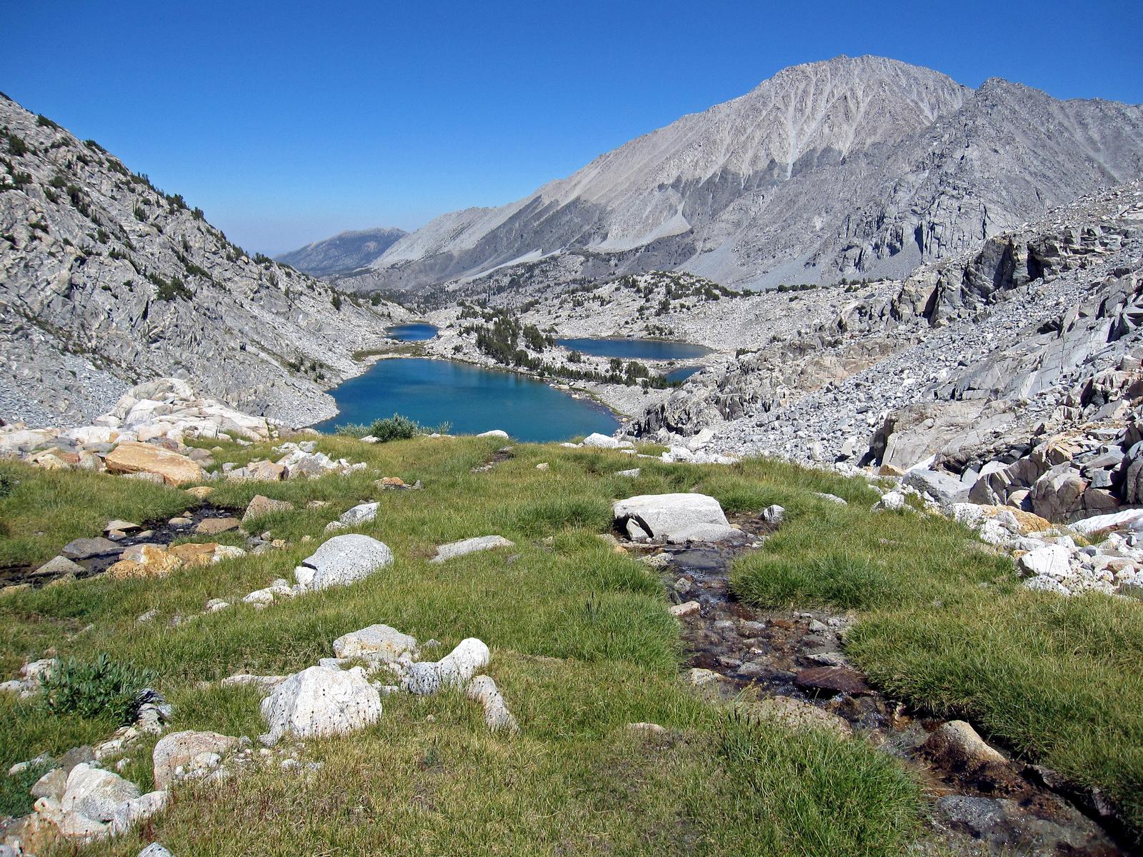 Little Lakes Valley, John Muir Wilderness, California
