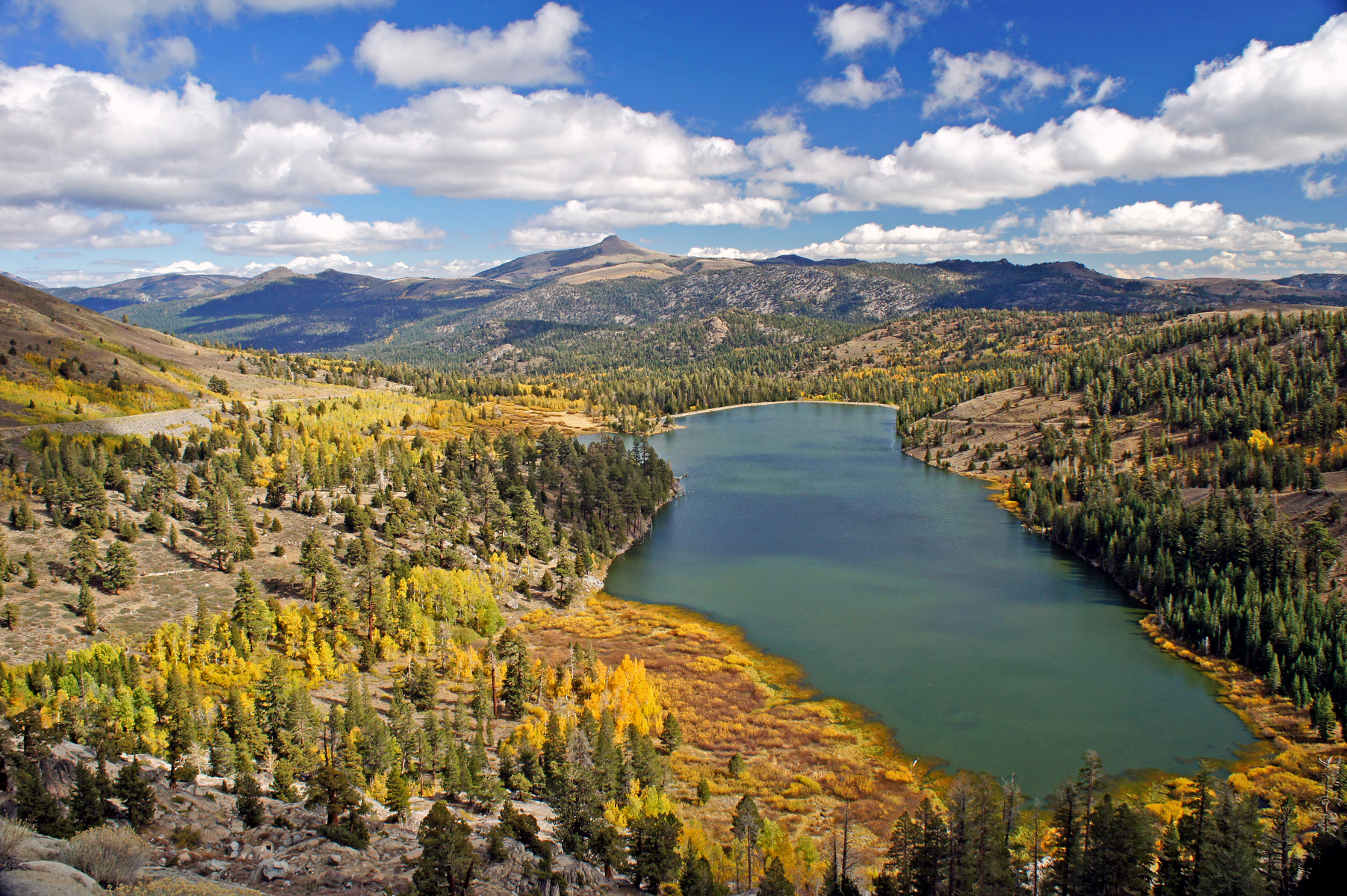 near Kirkwood, south of Lake Tahoe, California