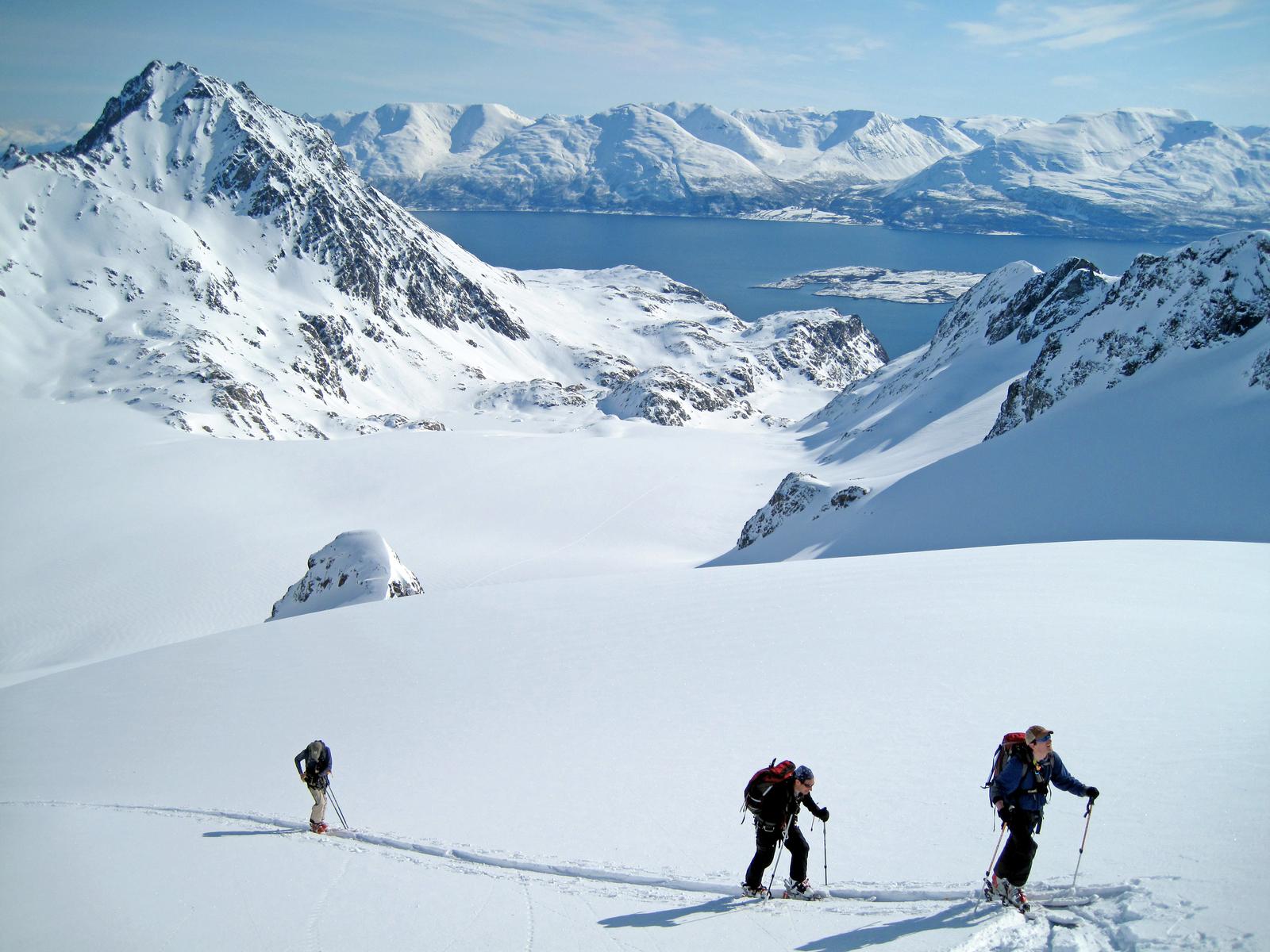 Lyngen Fjord, near Tromso, Norway