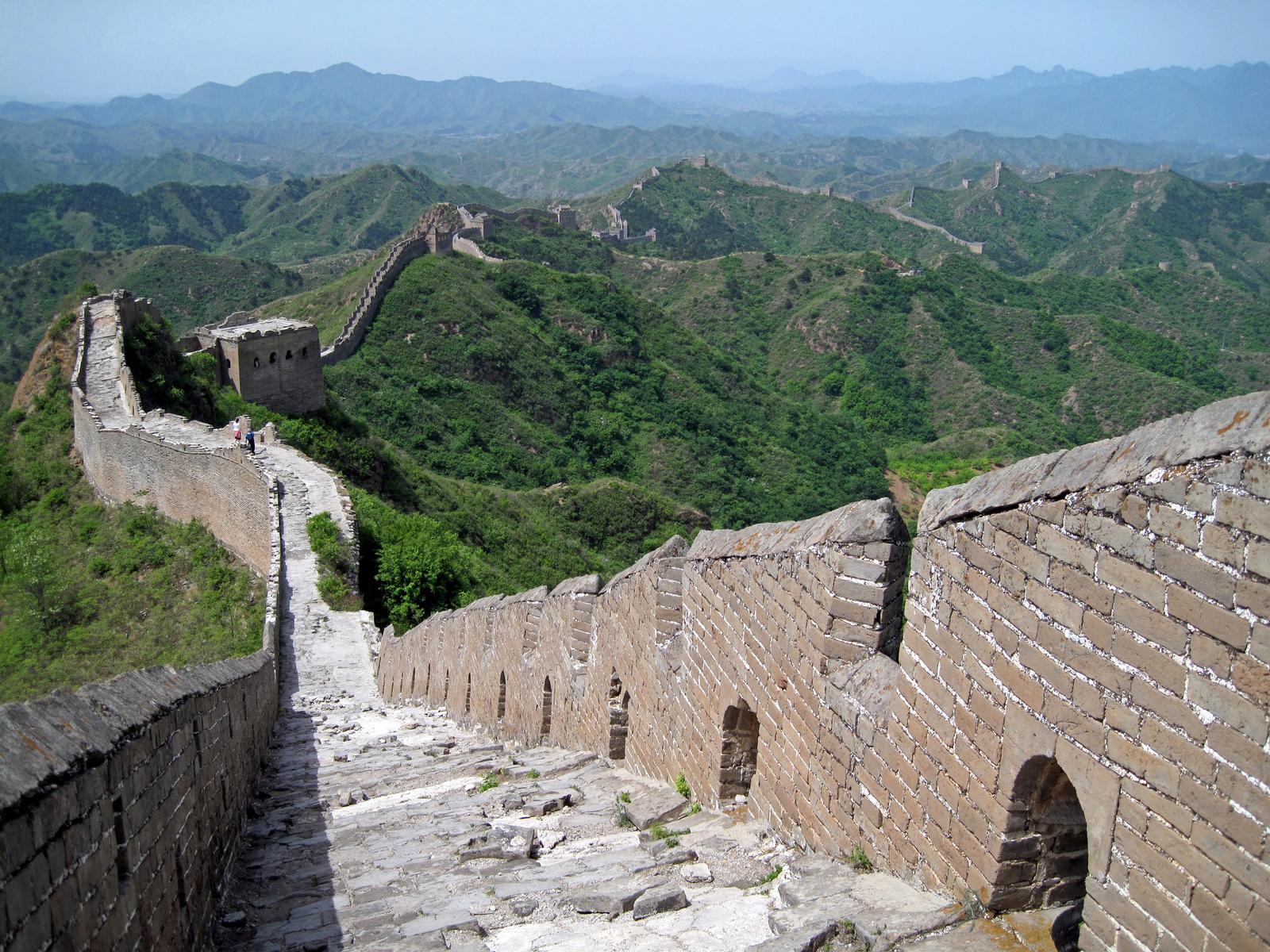 between Jinshaling and Simatai, Northern China