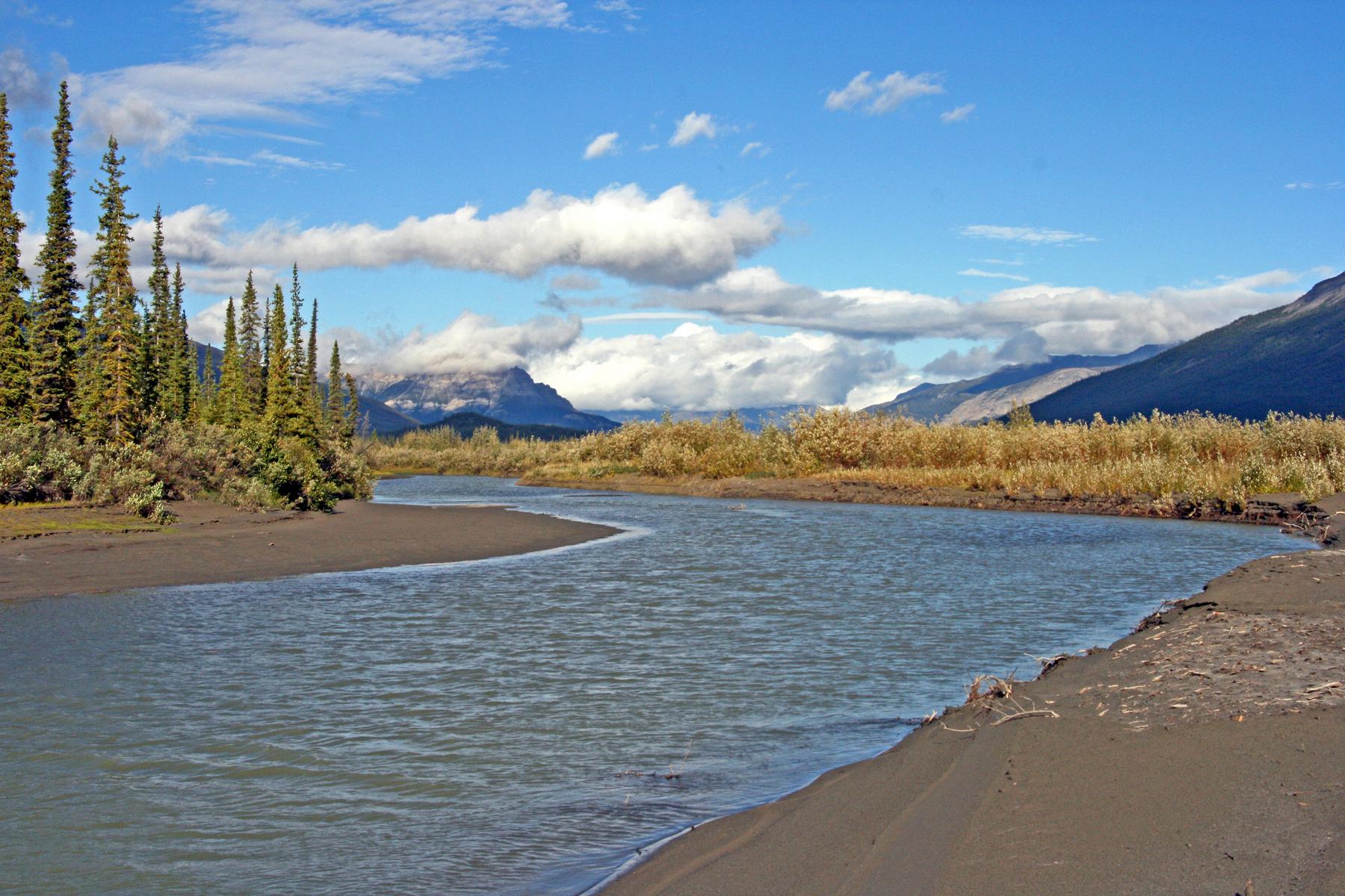 near the Arrigetch Peaks, Gates of the Arctic National Park, Alaska