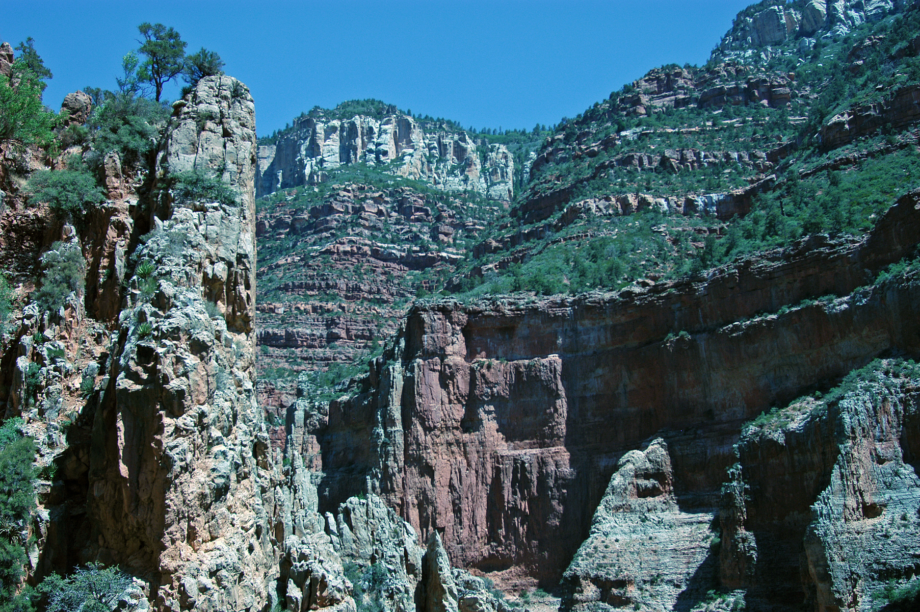 North Kaibab Trail, Grand Canyon, Arizona