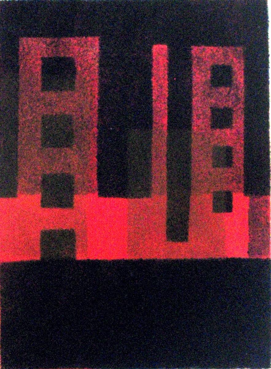 Silk Screen Print, 2009 - Gerard Greene