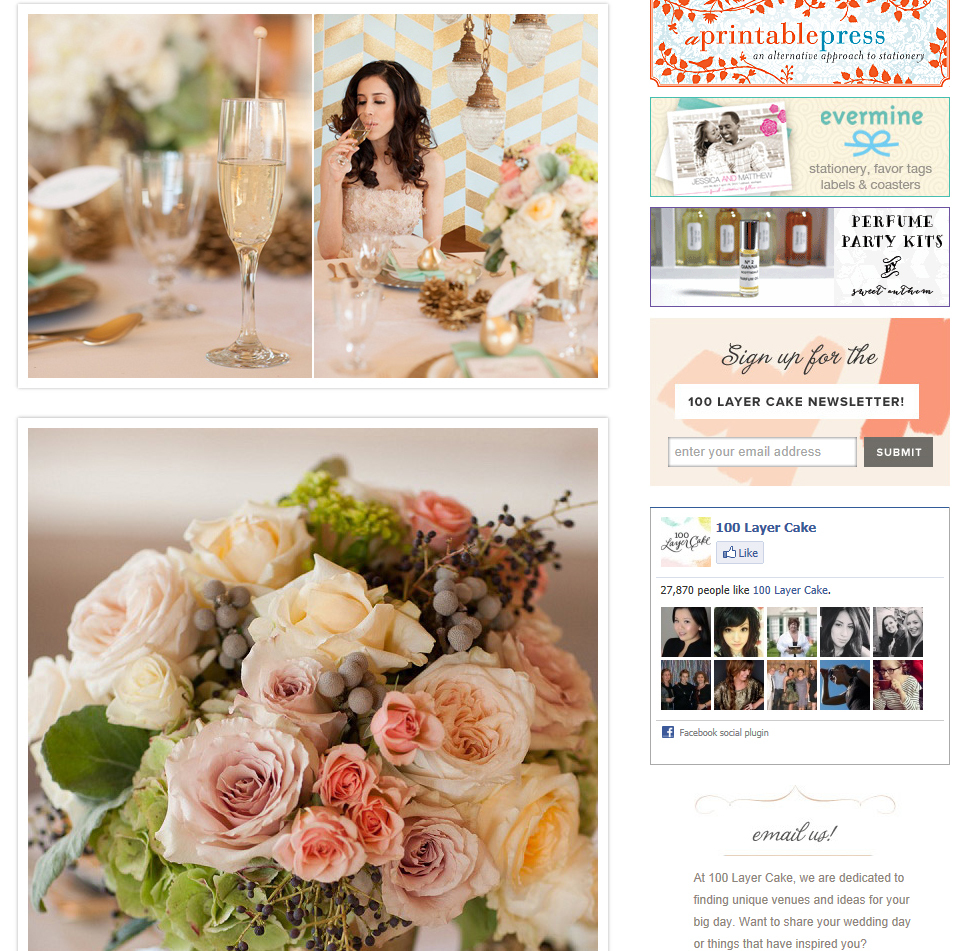 Mint &amp; Gold Wedding Ideas: <br />http://bit.ly/13QLv5o <br />