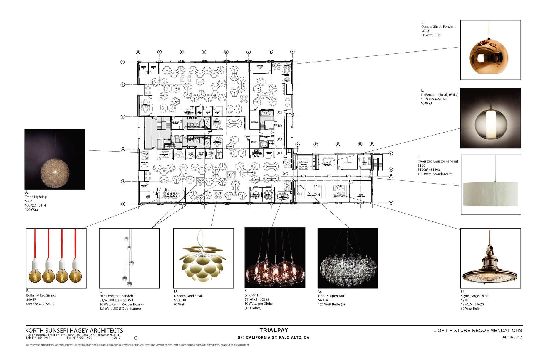 Specialty Light Fixture Recommendation For Client